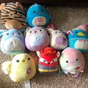 """NWT MYSTERY 5"""" Squishmallow"""